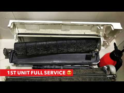 How to fix Mitsubishi Aircon Not Cooling Problem by iAircon Singapore Aircon Repair & Servicing