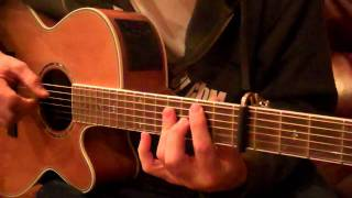 """How to play """"Tip of my Tongue"""" by the Civil Wars (Guitar)"""