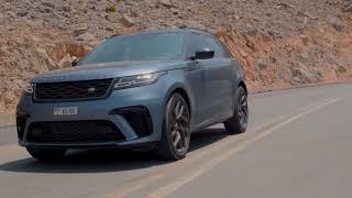 تجربة آداء سيارة  range rover velar svautobiography  ؟ انتظرونا و الحلقة 3  من All We Drive