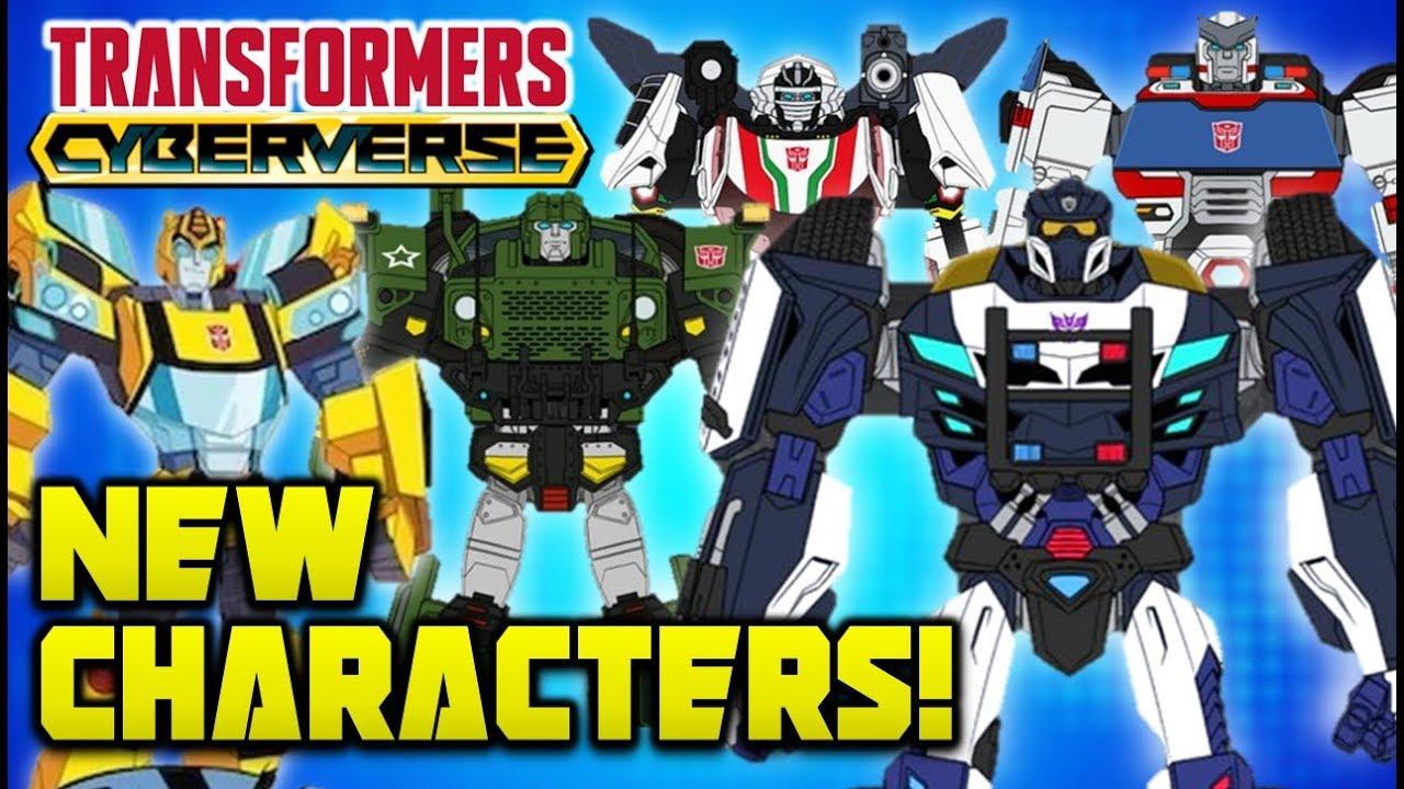 Transformers Cyberverse Barricade Wheeljack Ratchet More New Characters