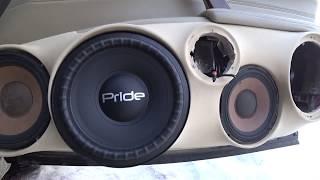 Pride W8 (настоящий мидбас) - Распаковка, обзор
