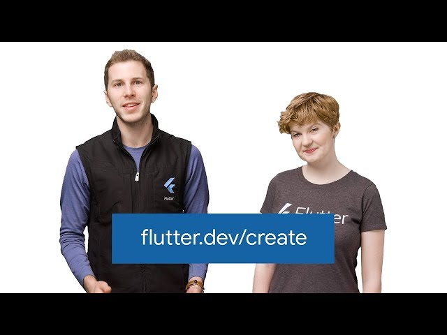 Introducing Flutter Create