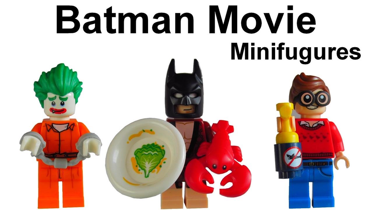 lego minifigures Lobster Lovin Batman