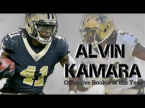 Alvin Kamara 2017 Rookie Highlights ||