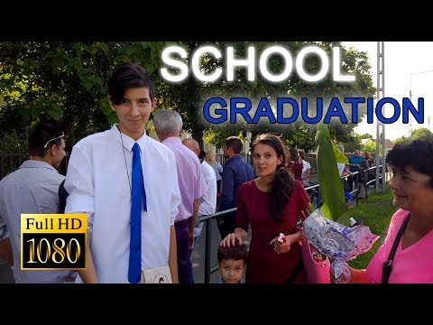 Elementary School Graduation 2018 in Hungary - Elementary School Graduation Speech ・ Full HD 1080p