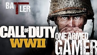 One Armed Gamer | Call of Duty: WW2 Beta | 12hr Livestream!