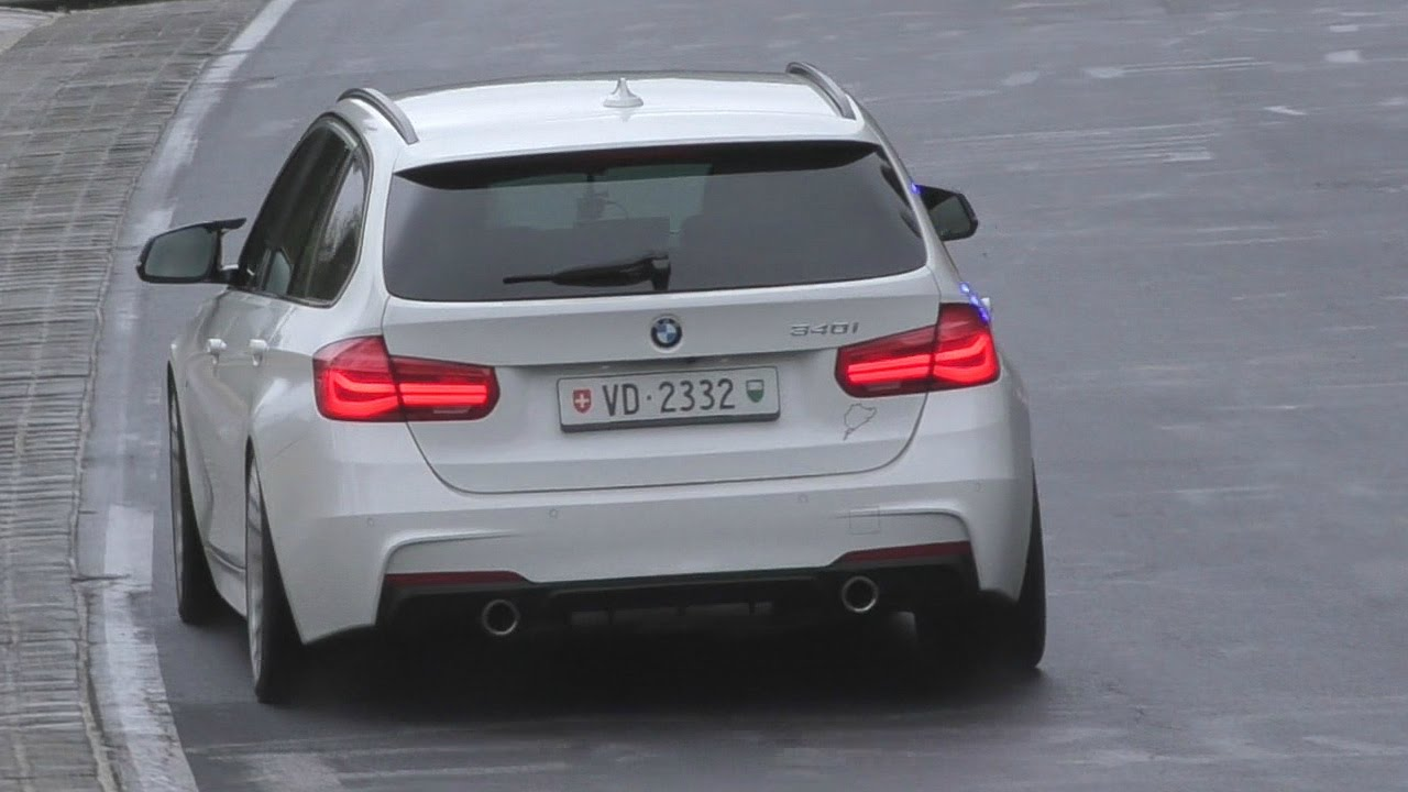 bmw 340i f31 w m performance exhaust sounds on n rburgring youtube. Black Bedroom Furniture Sets. Home Design Ideas