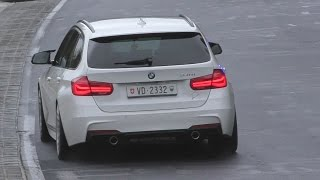 BMW 340i F31 w/ M Performance Exhaust! Sounds on Nürburgring!