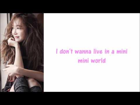 Jessica - Big Mini World (English version) lyrics