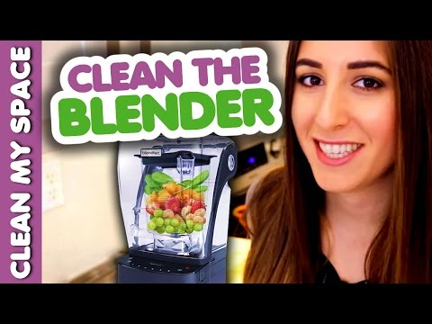 Quick & Easy Way How to Clean a Blender! (Clean My Space)