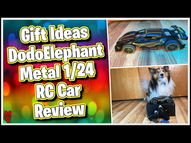 Gift Ideas DodoElephant Metal 1/24 RC Car Review || MumblesVideos Toy Product Review