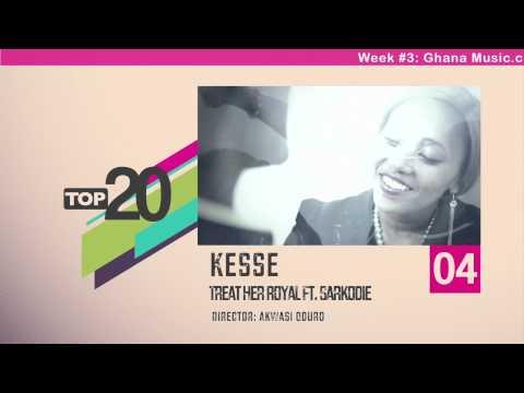Top 20 Ghana Music Video Countdown - Week #3, 2013.