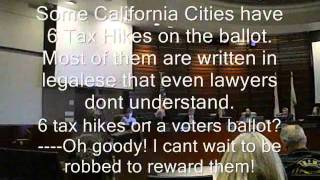 Solano Communist County - 6 Tax Hikes On California Ballots!