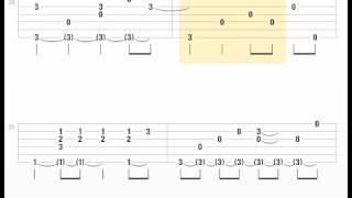 [Tab] Nơi tình yêu bắt đầu | guitar solo