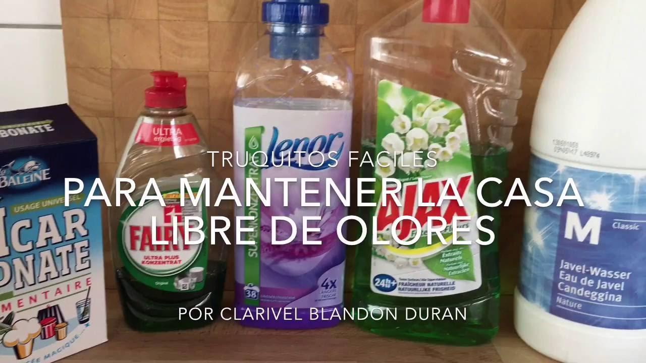 Truquitos para mantener la casa limpia y libre de olores youtube - Mantener la casa limpia ...