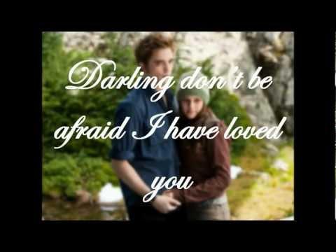 Christina Perri - A Thousand Years Lyrics (The Twilight Saga: Breaking Dawn Part 1 Soundtrack)