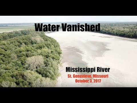 Mississippi River SO low some barges cannot move grain | More earthquakes ABOVE New Madrid Fault!