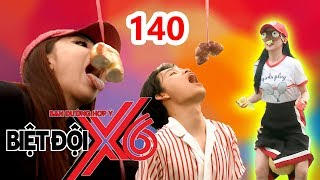 X6 SQUAD|#140| Si Thanh uses legs to keep the ball-Miko&Quang Trung struggle in eating the cake