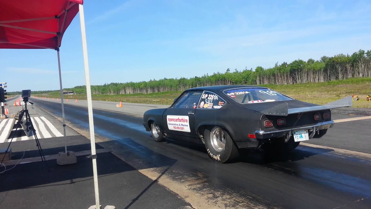 Chevrolet Vega drag car June 16 2013 - YouTube