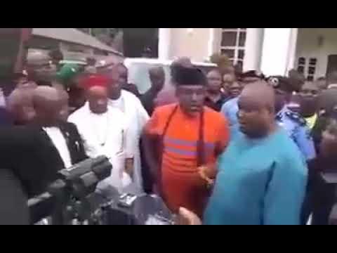 Gov. Rochas Okorocha rigged out of IMO APC WARD CONGRESS...