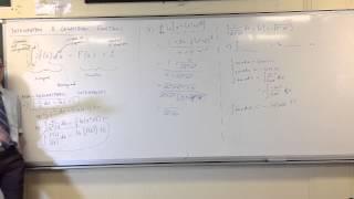 Integration & Logarithmic Functions: Non-Log Integrands (3 of 3)