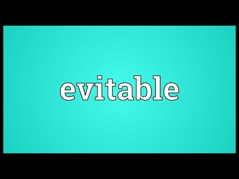 Header of evitable