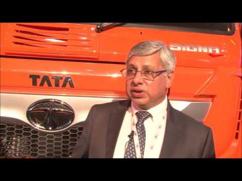 Tata Motors showcases Signa range of trucks at Auto Expo 2016