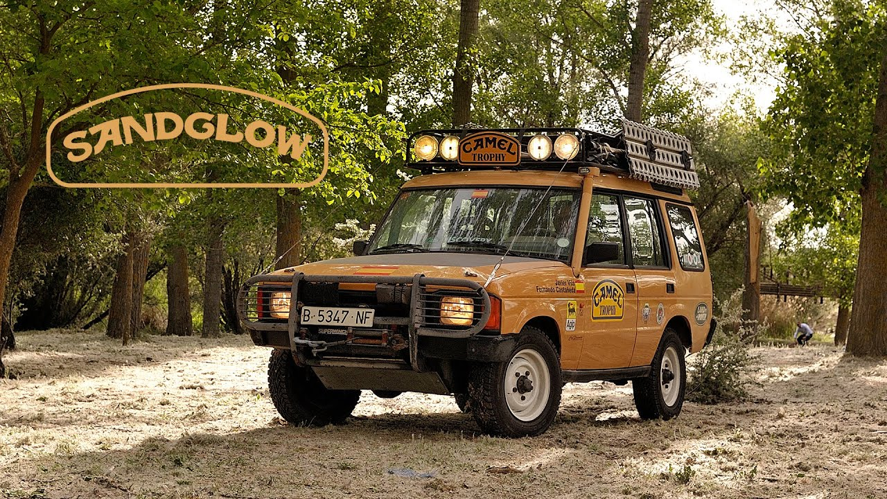 1987 Land Rover Discovery Camel Trophy: Sandglow