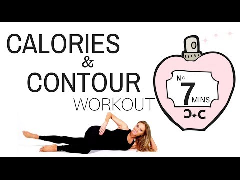 WORKOUT FOR WOMEN – Home Exercise Routine, Weight Loss Calorie Burning Exercises then Thigh Toning