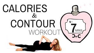 WORKOUT FOR WOMEN - Home Exercise Routine, Weight Loss Calorie Burning Exercises then Thigh Toning
