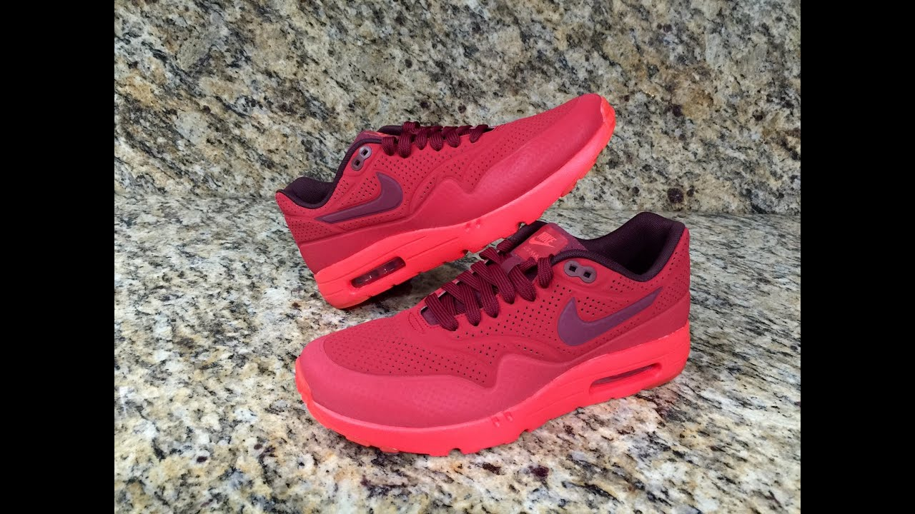 air max 1 ultra moire red