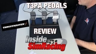 Thrustmaster T3PA Pedal Set Review by Inside Sim Racing