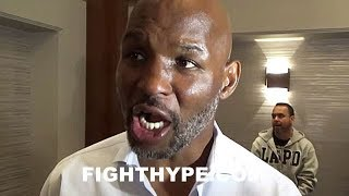 BERNARD HOPKINS REACTS TO ANDRE WARD RETIREMENT; PAYS HOMAGE:
