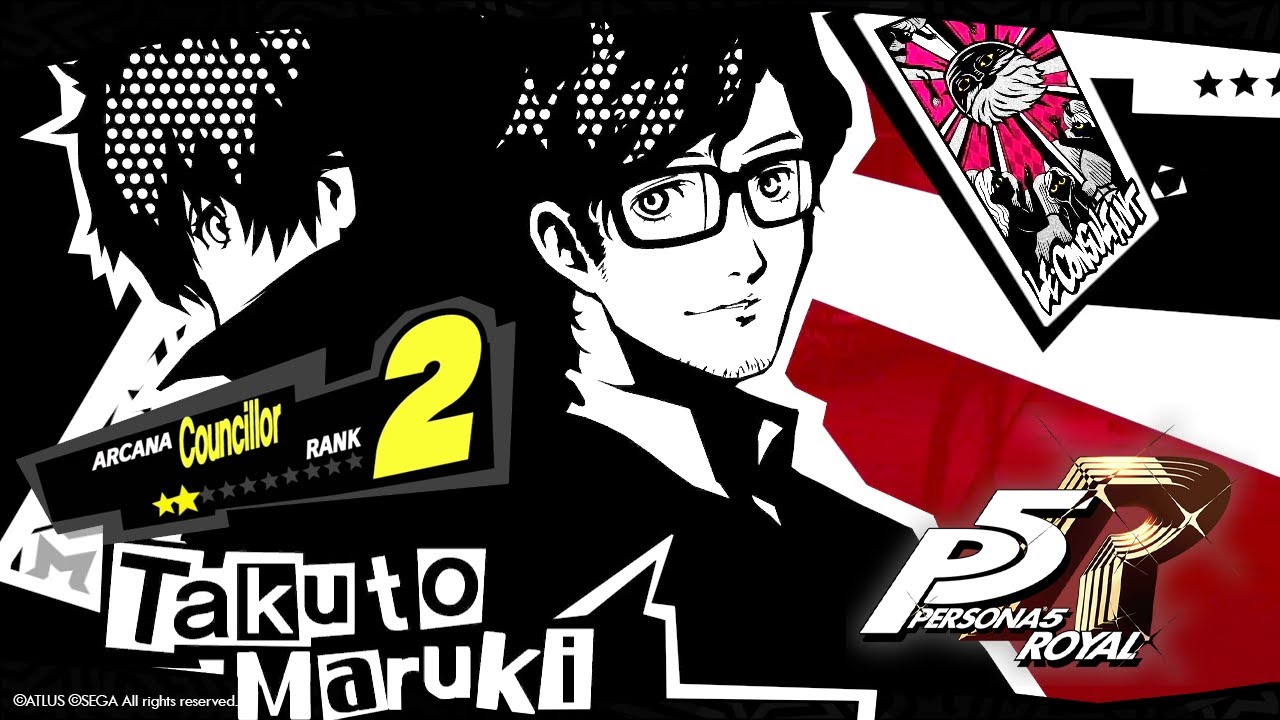 Takuto Maruki Councillor Rank 1 2 Persona 5 Royal Youtube