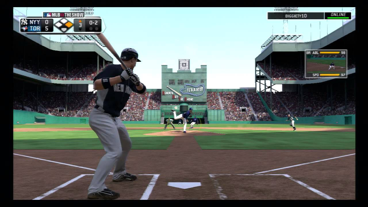 MLB The Show 13, Yankees vs Blue Jays at The Polo Grounds ...