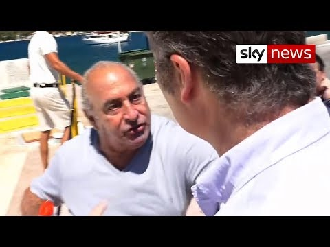 """Go Away!"" Sir Philip Green's Anger At BHS Questions"