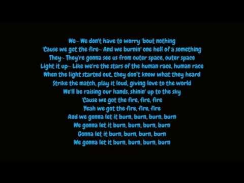 Ellie Goulding - Burn (Lyrics HD)