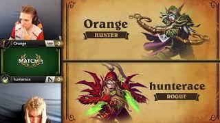 Orange vs Hunterace - Hearthstone Grandmasters Europe - Week 1 Day 3