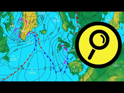 How to read a weather chart