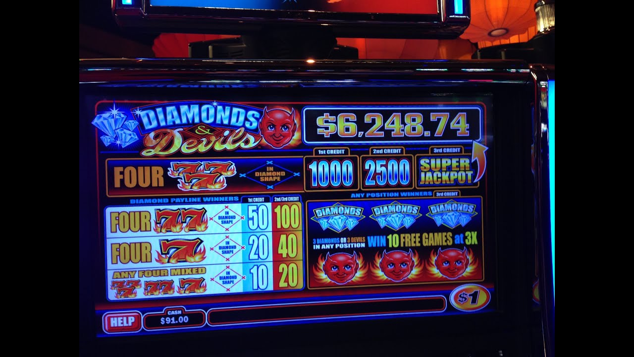 3 diamonds slot machine