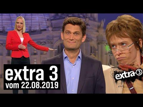 Extra 3 vom 22.08.2019 im Ersten | extra 3 | NDR