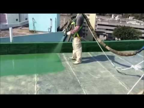 Pentens Pure Polyurea Spray Coating System Youtube