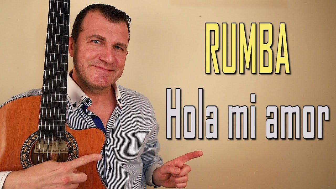 Rumba Hola Mi Amor De Junco Tutorial Youtube