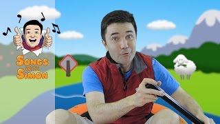 Row Row Row Your Boat | Nursery Rhymes and Songs for Kids by Songs with Simon