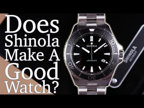 """Shinola Lake Superior Monster Review - Is This Dive Watch """"Good Value""""? - A New Design Worth Notice"""