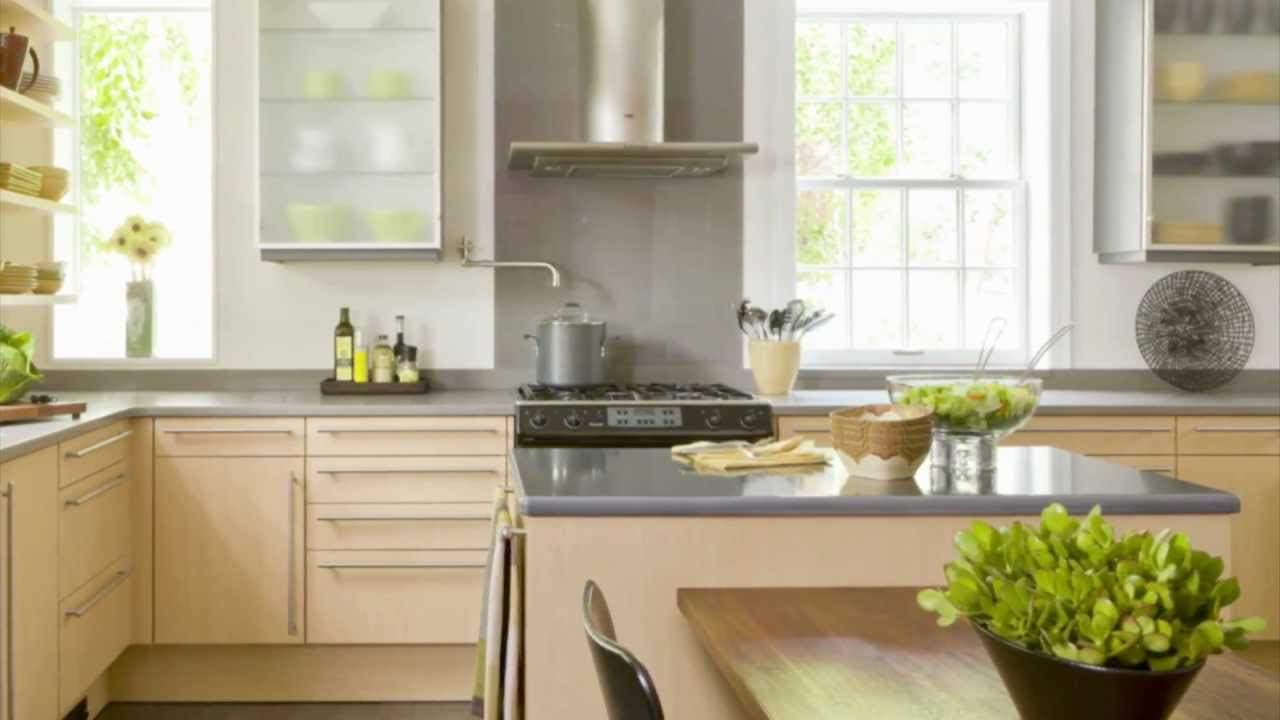 marvelous kitchen color scheme | Kitchen Design Ideas - Yellow Color Scheme Ideas - YouTube