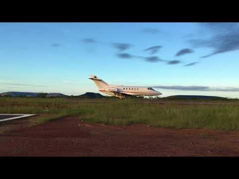 Decolagem PP-ACP Hawker 800