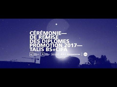 Cérémonie de remise des diplômes promotion 2017 Talis BS + CIFA Bordeaux