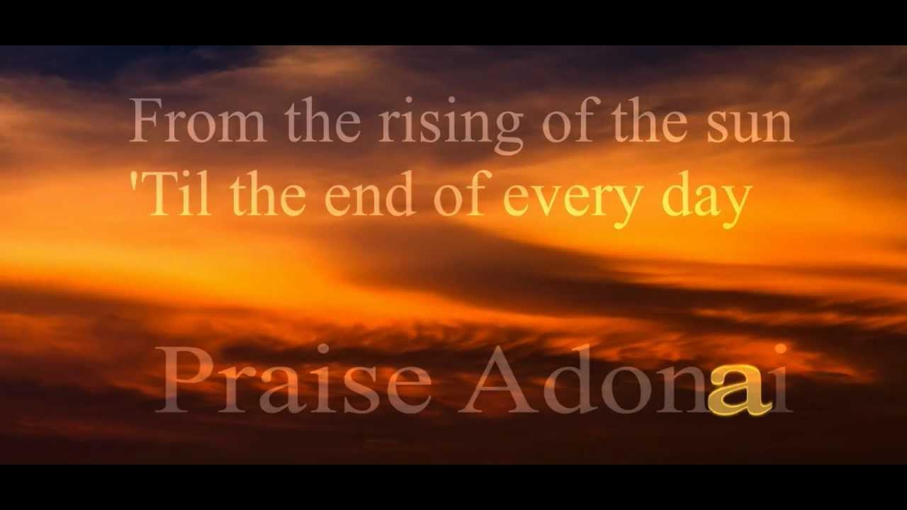 Paul Wilbur – Praise Adonai Lyrics | Genius Lyrics