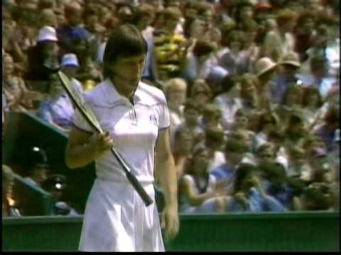 1980 Wimbledon QF Martina Navratilova vs Billie Jean King Part 3